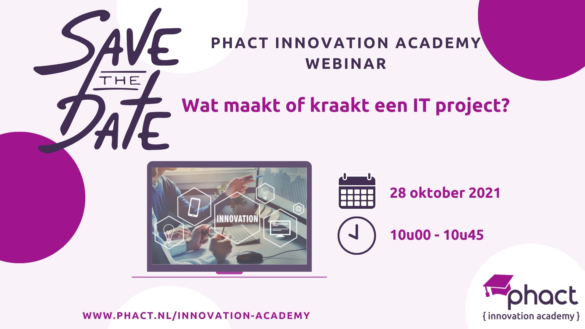Phact innovation academy - principes (1)